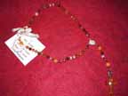 Agate and Raw Amber Rosary